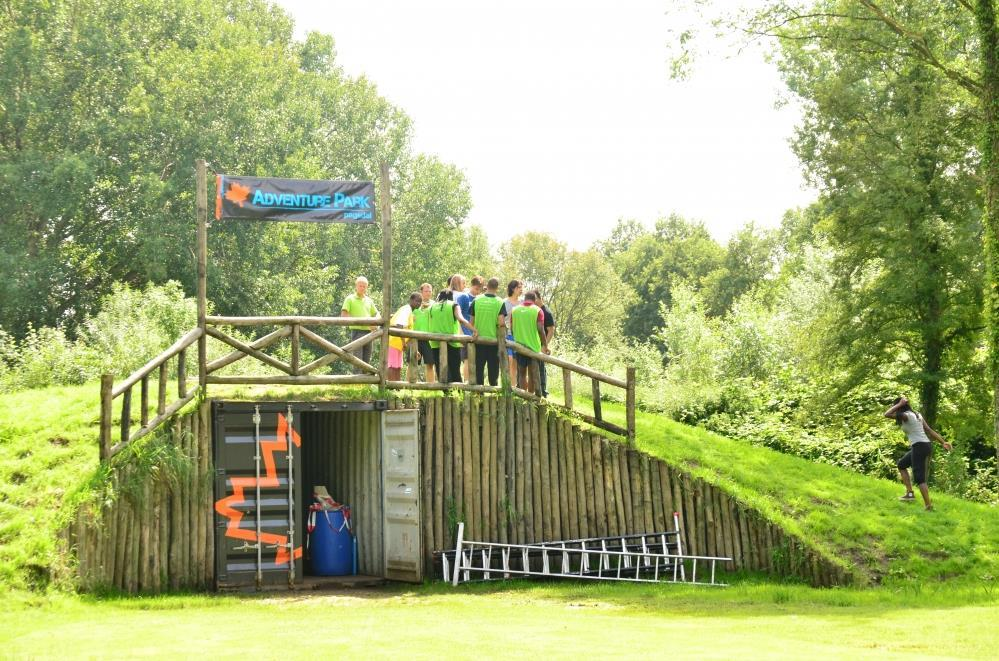 Adventurepark Pagedal in gebruik